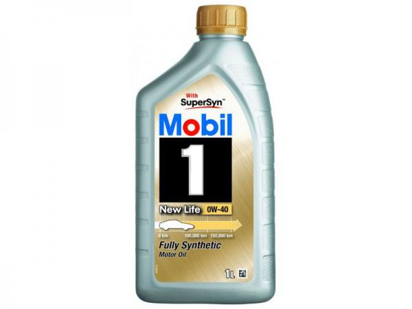 Масло моторное MOBIL 0W-40 синтетическое 1л