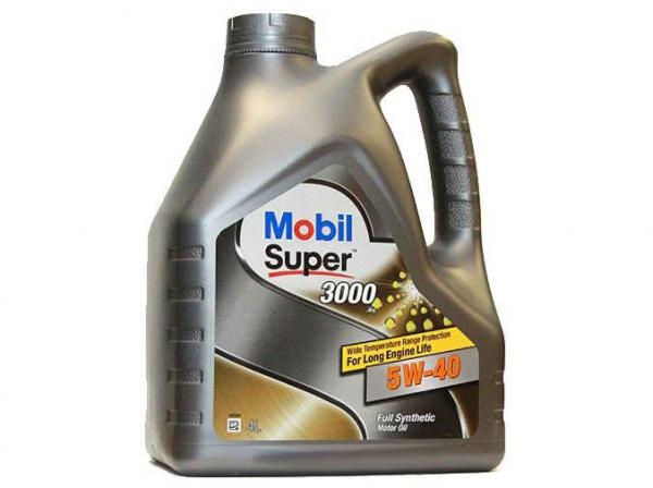 Масло моторное MOBIL 3000 5W-40 синтетическое 4л