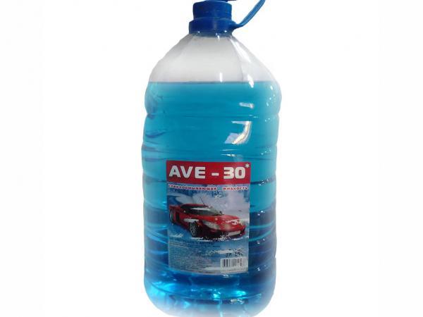 AVE -30 Жидкость стеклоомывателя зимняя 5л.