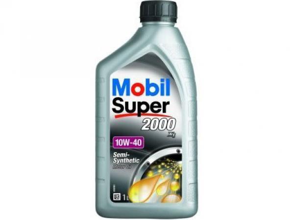 Масло моторное MOBIL 2000 10W-40 п/синтетическое 1л
